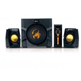 Genius GX Gaming SW-G2.1 3000-70W 2.1 Channel Gaming Speaker System