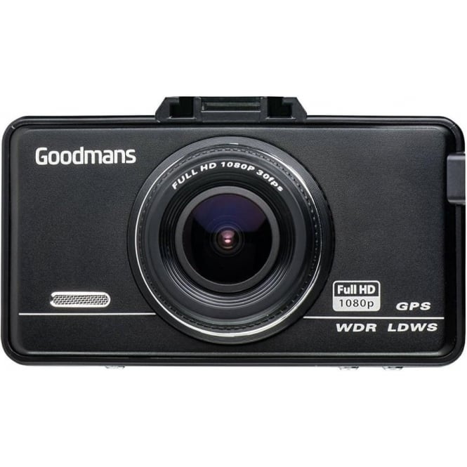 Goodmans Full HD Car Dash Camcorder with GPS Tracking
