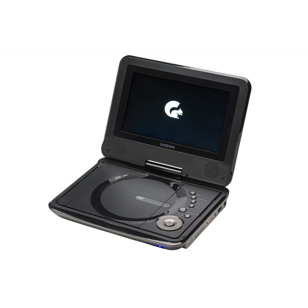 goodmans gdvdply01 7 portable dvd player goodmans from uk. Black Bedroom Furniture Sets. Home Design Ideas