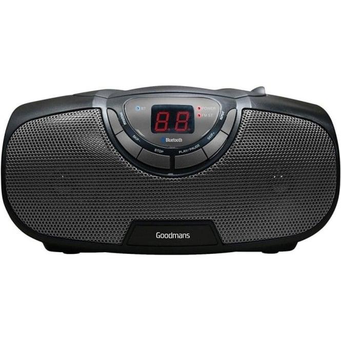 Goodmans GPSBT01 CD FM Boombox Radio
