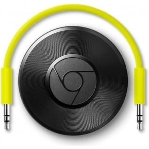 Chromecast Audio Media Music WiFi Wireless Streamer