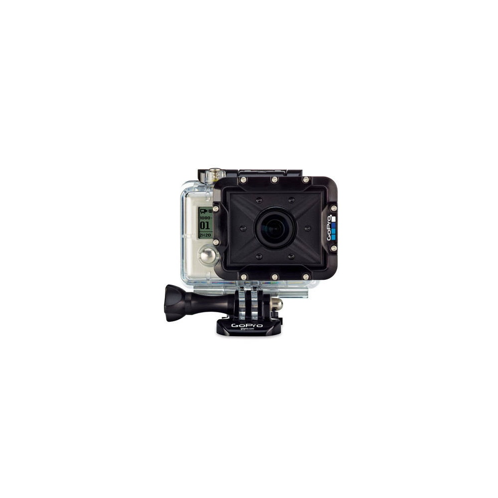 diving housing for gopro hero 2 action camera. Black Bedroom Furniture Sets. Home Design Ideas