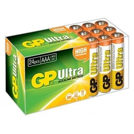Ultra Alkaline AAA pack of 24