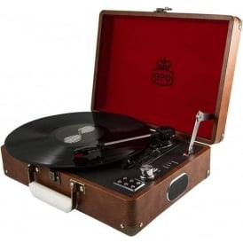 Attache Case Vintage Brown