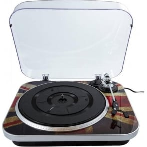 Jam 3-Speed Vinyl Turntable