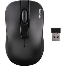 """AM-7701"" Wireless Optical Mouse, Black"