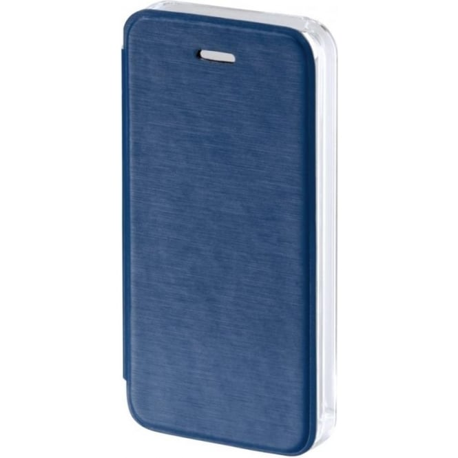 "Hama ""Clear"" Booklet Case for Apple iPhone 5/5s/SE, Dark Blue"