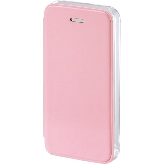 "Hama ""Clear"" Booklet Case for Apple iPhone 5/5S/SE, Rose"