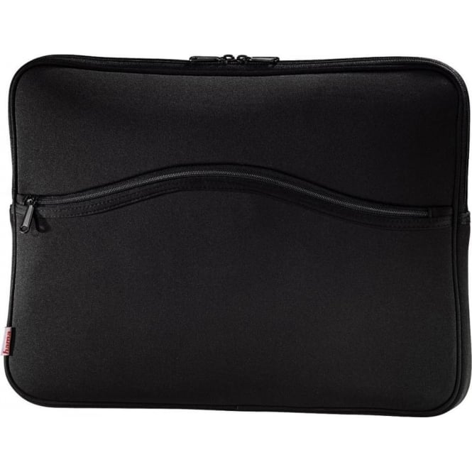 "Hama ""Comfort"" Notebook Sleeve, Screen Sizes Up To 15.6"", Black"