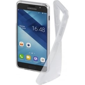 """Crystal Clear"" Cover for Samsung Galaxy A3 (2017), Transparent"