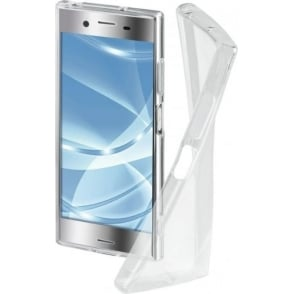 "Hama ""Crystal Clear"" Cover for Sony Xperia XZ Premium, Transparent"