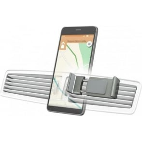 """Flipper"" Universal Smartphone Holder, Devices with width 6 - 8cm, Grey"