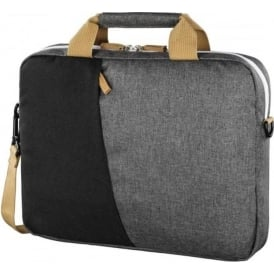 """Florence"" Notebook Bag, up to 40 cm (15.6""), Black/Grey"