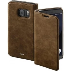 """Guard Case"" Booklet Case for Samsung Galaxy S8, Brown"