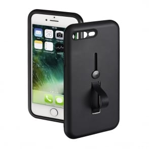 """Loop"" Case Cover for the Apple iPhone 7 Plus/8 Plus, Black"