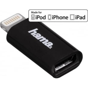 Micro USB 2.0 Adapter for Apple iPod/iPhone/iPad with Lightning Connector