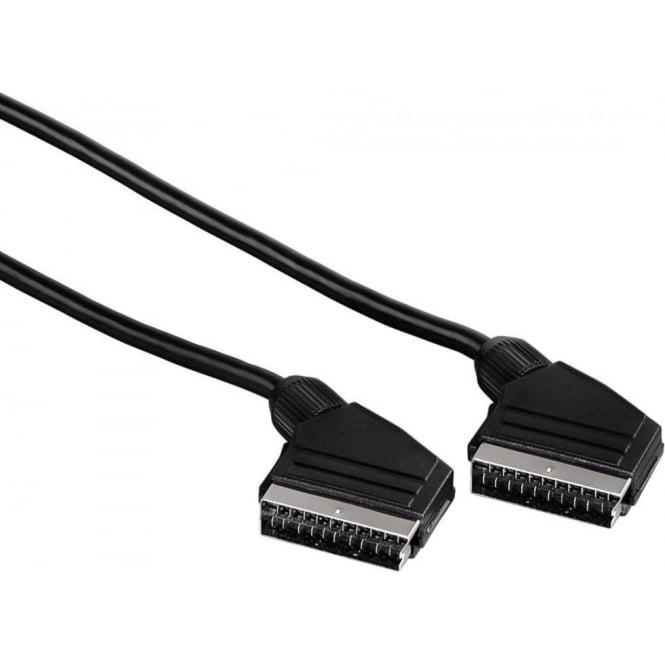 Hama Scart Connecting Cable, Plug - Plug, 1.5 m, Black