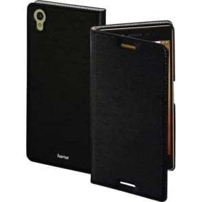 """Slim"" Booklet Case for Sony Xperia X, Black"