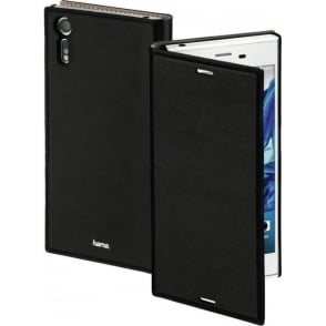 """Slim"" Booklet Case for Sony Xperia XZ, Black"