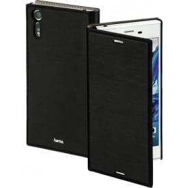 """""""Slim"""" Booklet Case for Sony Xperia XZ, Black"""