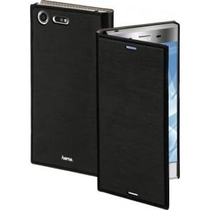 """""""Slim"""" Booklet Case for Sony Xperia XZ Premium, Black"""