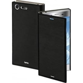 """Slim"" Booklet Case for Sony Xperia XZ Premium, Black"