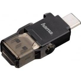 USB 3.1 Card Reader, microSD, USB 3.1 Type-C, USB 3.0 Type A