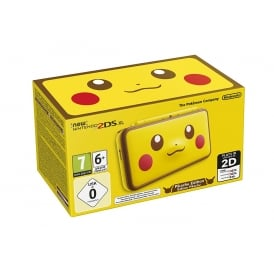 Handheld Console - New Nintendo 2DS XL - Pikachu Edition
