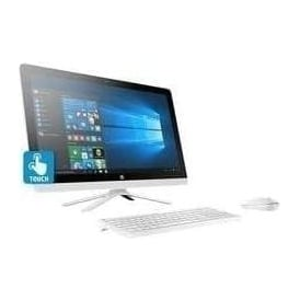 "24-G035NA Intel Core i3, 8GB RAM, 1TB HHD, 23.8"" Touchscreen ALL-In-One Desktop PC, White"