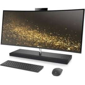 "ENVY 34-b070na 34"" 8GB RAM, 256GB SSD, 1TB HDD, Win 10 Curved All-in-One Desktop PC Computer"
