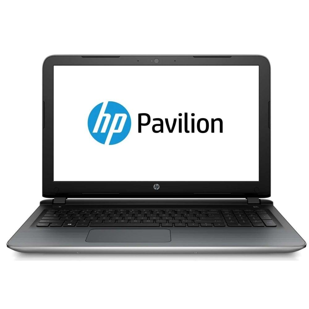 "Hewlett Packard Pavilion 15.6"" Notebook 15-ab500na, Silver ..."