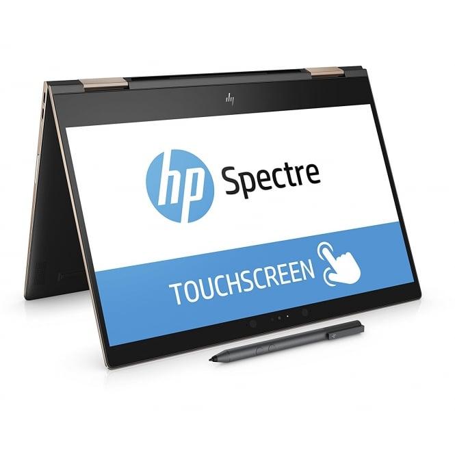 "Spectre x360 13AE004NA 13.3"" Intel Core i5, 8GB RAM, 256GB SSD, Intel UHD Graphics 620, Win10 Home, Convertible Laptop, Dark Ash Silver"