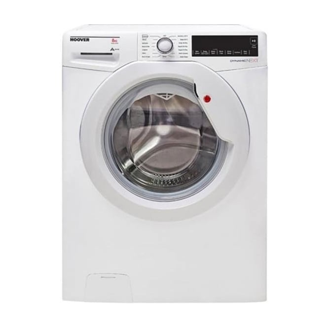 Hoover DXC48W3 8kg, 14000rpm, A+++ Freestanding Washing Machine, White