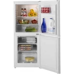 HSC536W 55cm Fridge Freezer, White