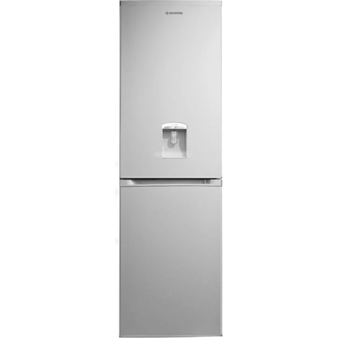 Hoover HVBF5182AWK Frost Free Fridge Freezer A+, Silver