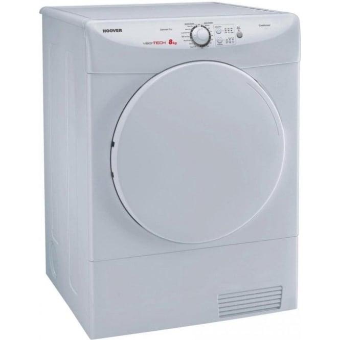 Hoover VTC580NC 8kg, C Condenser Tumble Dryer, White