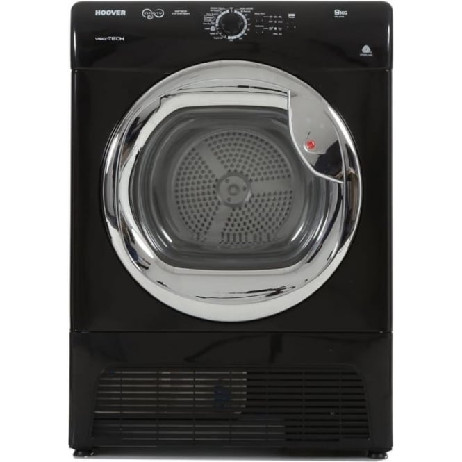 Hoover VTC591BB 9kg Condenser Dryer, Black