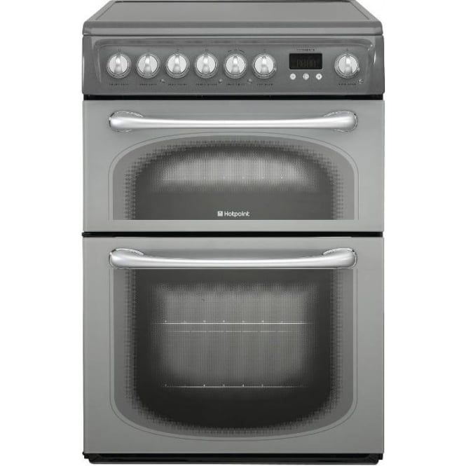 Hotpoint 60HEGS Electric Cooker with Ceramic Hob, Graphite