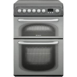 60HEGS Electric Cooker with Ceramic Hob, Graphite