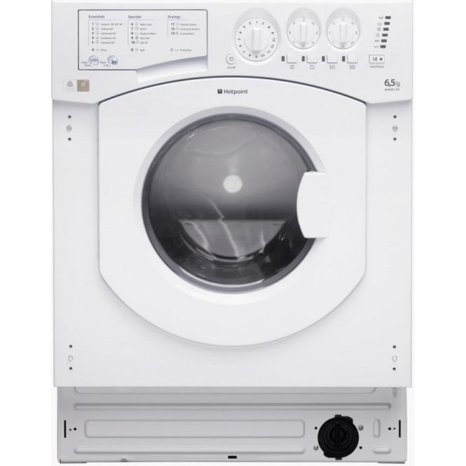 Hotpoint BHWD129/1 6.5kg/5kg, 1200rpm, Fully Integrated Washer Dryer
