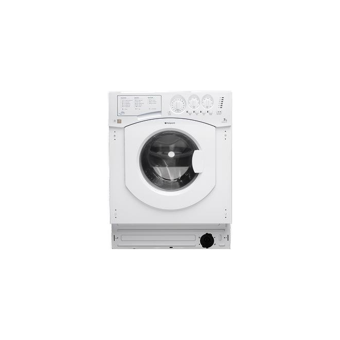 Hotpoint BHWM1492 7kg, 1400rpm, Fully Integrated Washing Machine, White