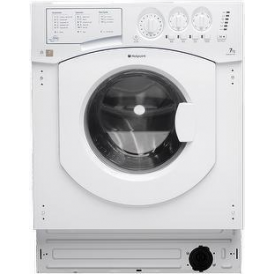 BHWM1492 7kg, 1400rpm, Fully Integrated Washing Machine, White