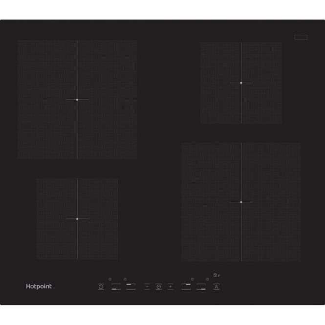 Hotpoint CIA 640 C Induction Hob, Black
