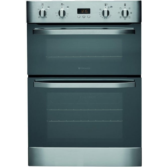 Hotpoint DH93CX Electric Built In Double Oven, Stainless Steel