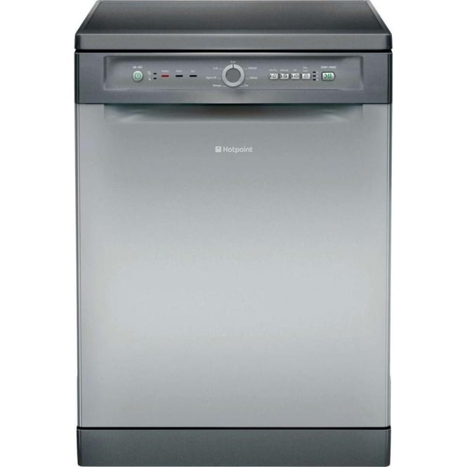 Hotpoint FDLET31120G 14 Place Dishwasher, Graphite