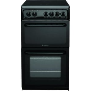 HAE51K Freestanding 50cm Cooker with Black Ceramic Hob