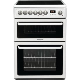 HAE60P Freestanding 60cm Electric Cooker with Double Oven and Ceramic Hob