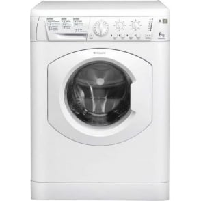 HE8L 493PUK 8kg, 1400rpm, A+++ Washing Machine, White