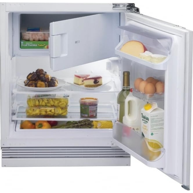 Hotpoint Hfa1uk 81 5cm Integrated Undercounter Fridge With