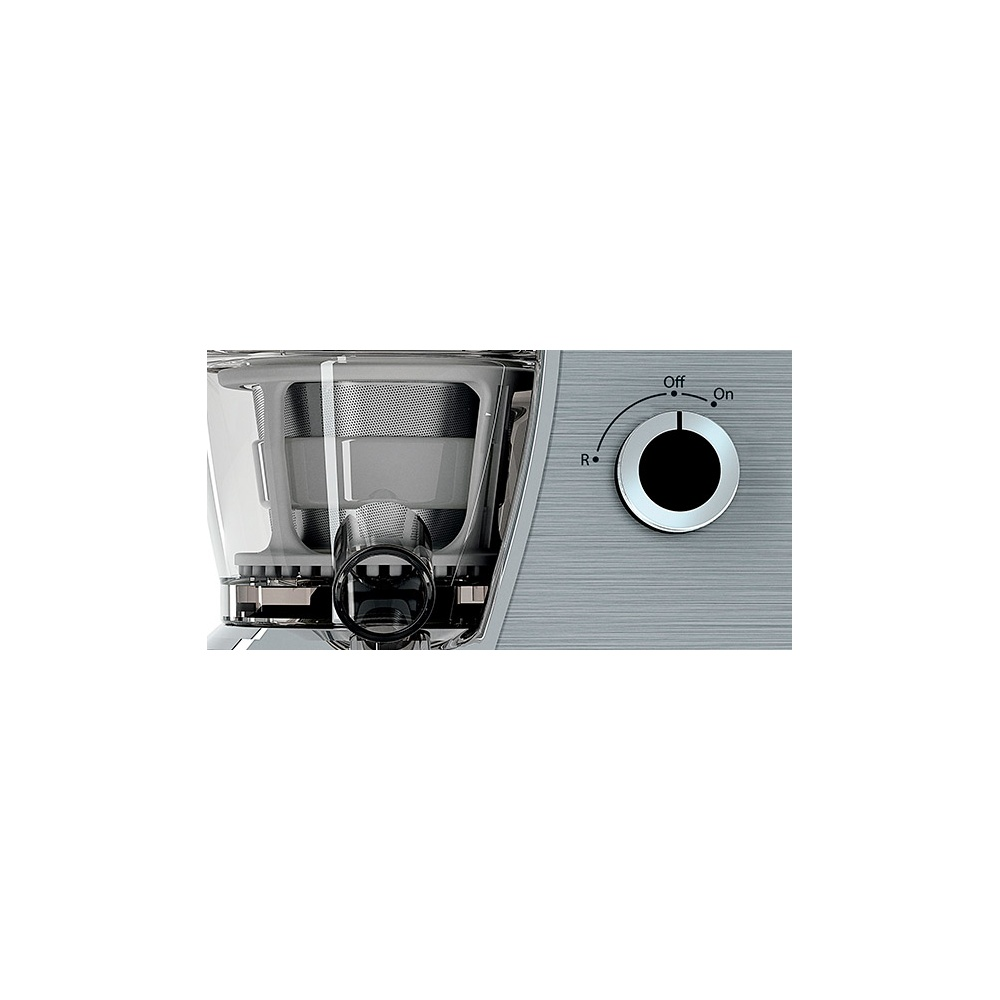 Hotpoint Slow Juicer Review : Hotpoint Hotpoint SJ4010AX0 Slow Juicer Stainless Steel - Hotpoint from Powerhouse.je UK